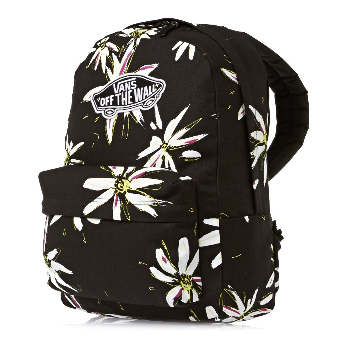 Vans Realm Backpack - Black/white | Free UK Delivery on All Orders ...