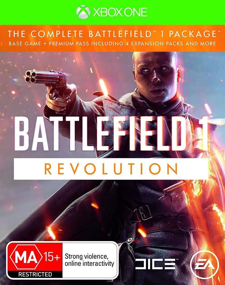 Battlefield 1 Revolution Edition WW1 Soldier War RPG