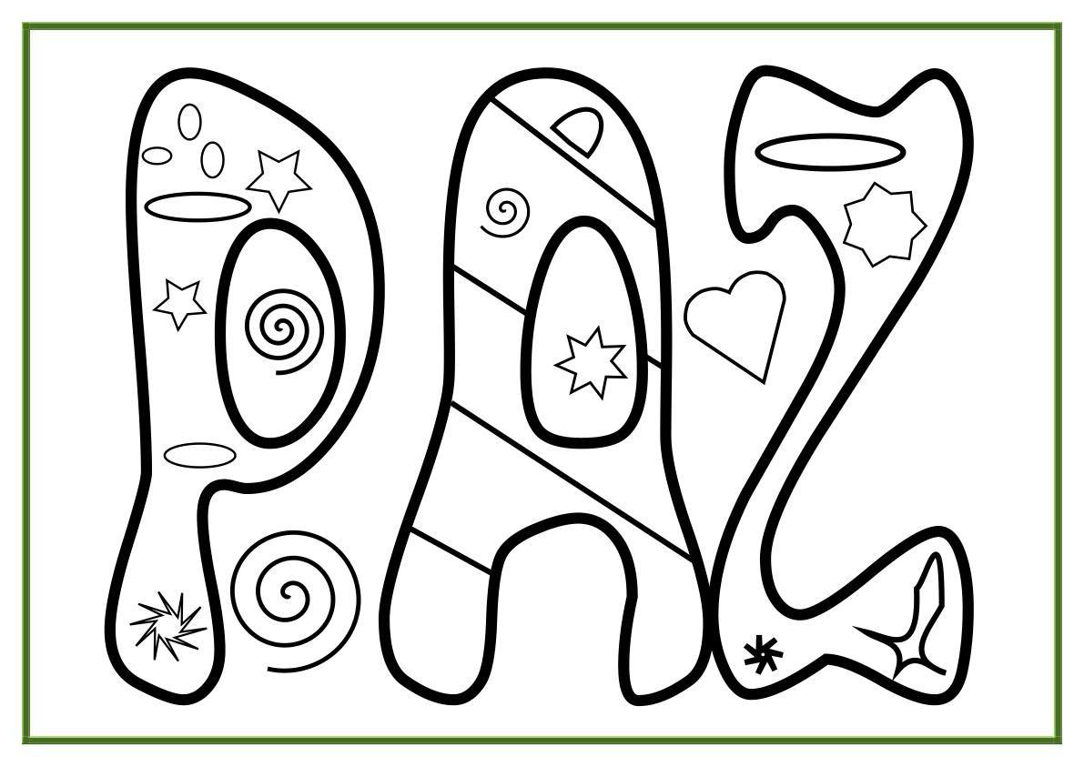 Signos de amor y paz para colorear - Imagui | love | Pinterest ...