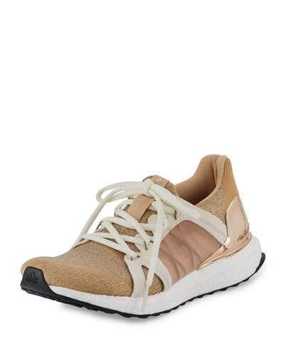x3a37 adidas by stella mccartney ultra - impuls sparkle stricken sneaker