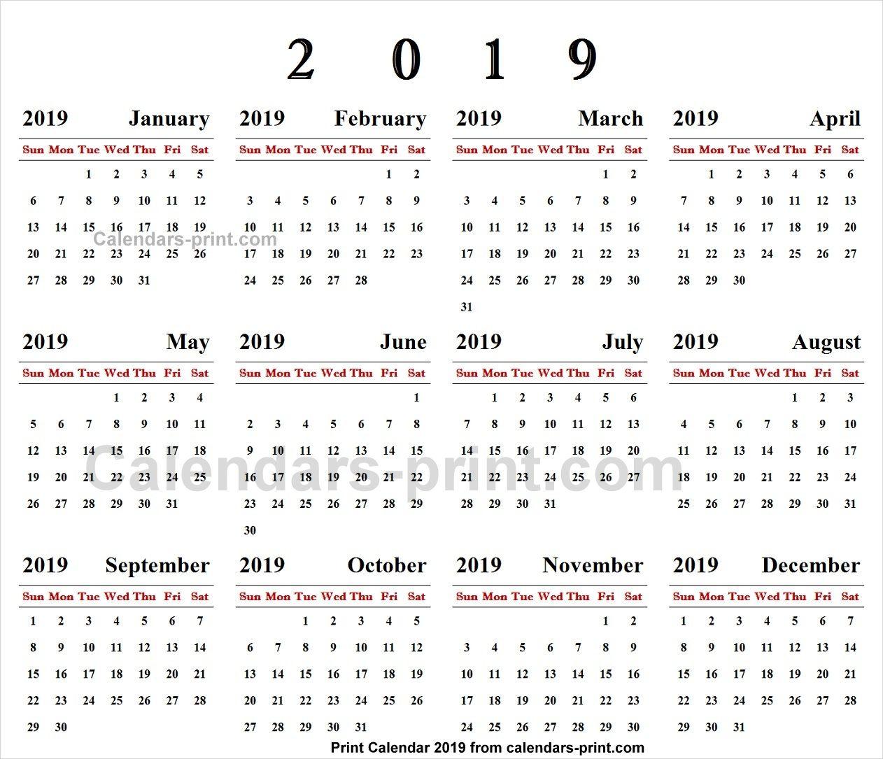 Calendar Online 2019 Online Calendar 2019 | 2019 Yearly Calendar | Online calendar