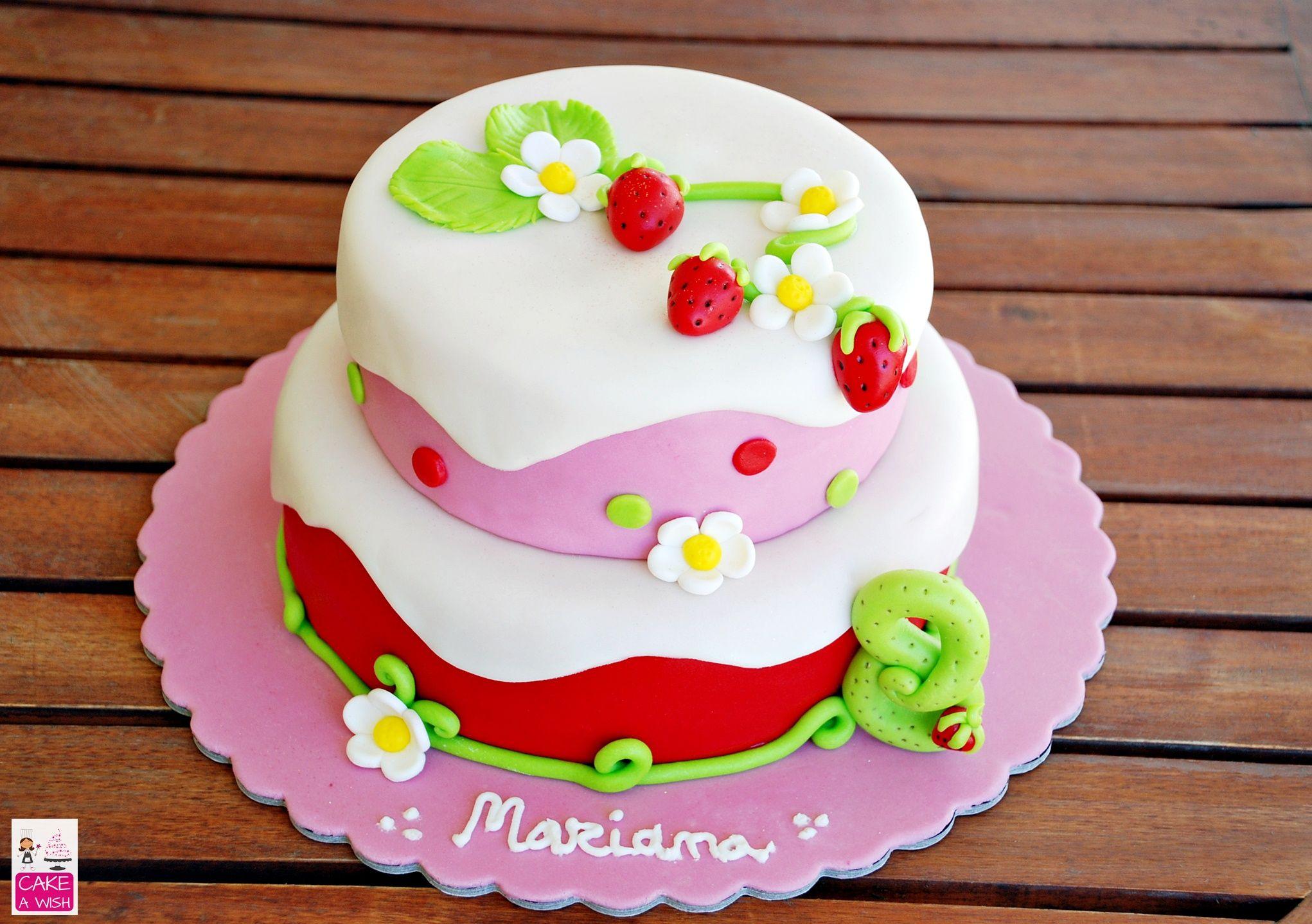 Docinho de Morango #strawberry cake