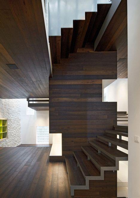Escaleras escaleras pinterest escalera actitud y for Escaleras arquitectura