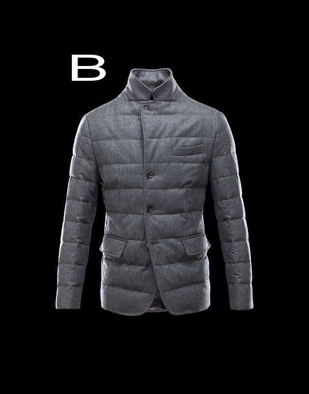 760d34f54 Moncler Rodin Men Quilted English Flannel Jacket Deep Gray Hot Sale ...