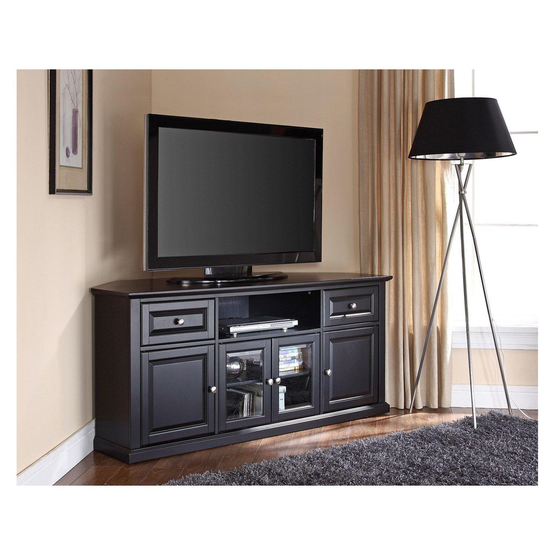 Crosley Furniture Cf1000260 60 Corner Tv Stand Media Center In