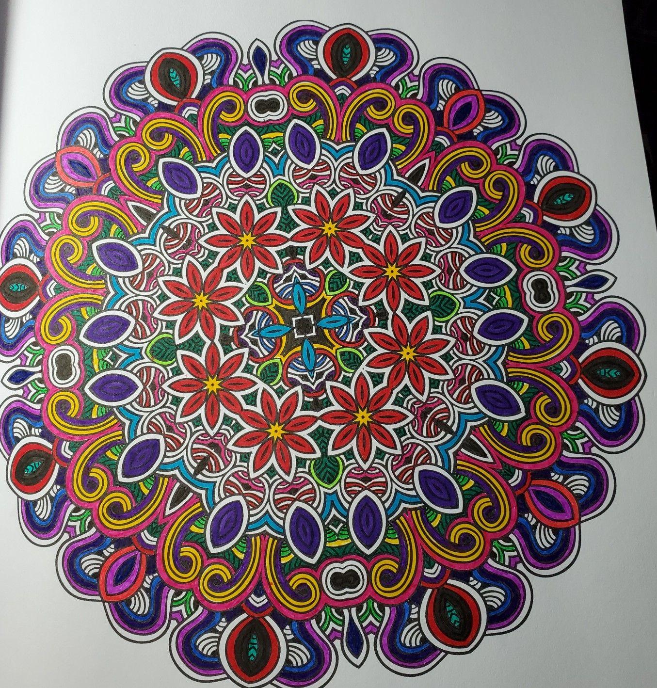 Insane Mandalas Vol 3 The World S Hardest Coloring Book By Marti Jo S Coloring Book Art Coloring Books Book Art