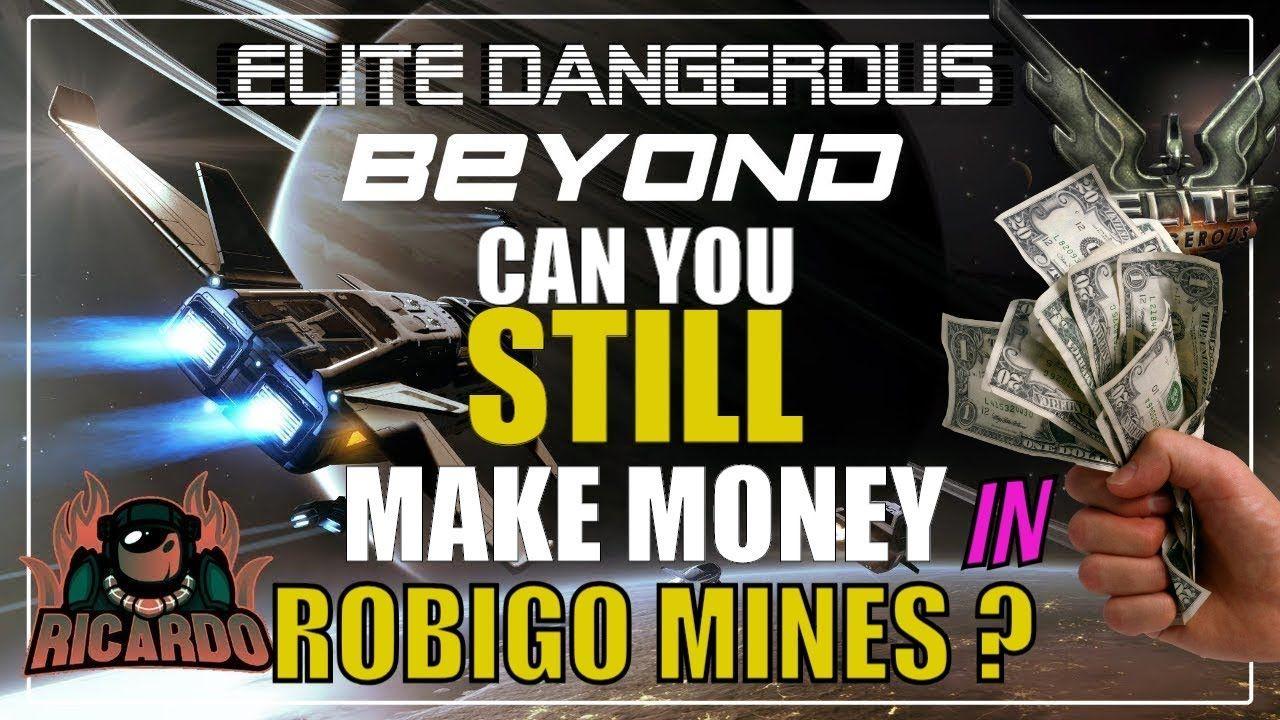 Elite: dangerous can you still make money in Robigo? | Elite