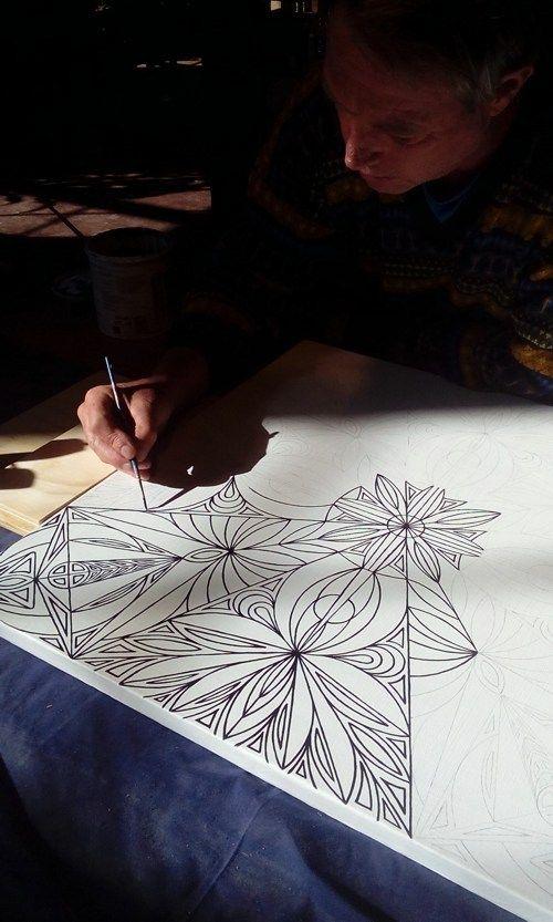 Art in Progress - Anton DK's Art - South African Artist
