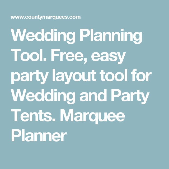 wedding planning tool free easy party layout tool for wedding and