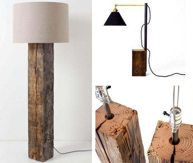 basteln mit naturmaterialien lampe selber bauen wohnung. Black Bedroom Furniture Sets. Home Design Ideas