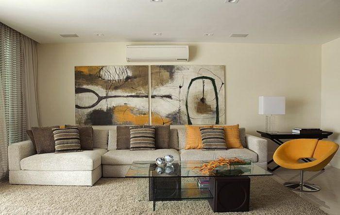 mid century modern interior design characteristics | Male Living ...
