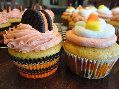 Cute Ideas for Halloween Cupcakes Food Pinterest Food and