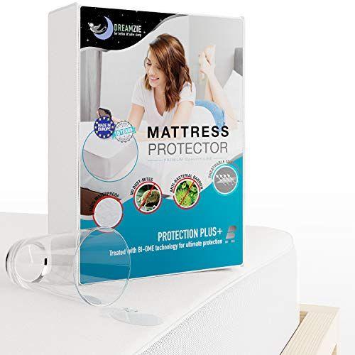 Dreamzie Protege Matelas Impermeable Alese Impermeable Couvre Matelas En Coton Respirant Housse Prote In 2020 Matratzen Schoner Matratzenschoner Matratzenauflage