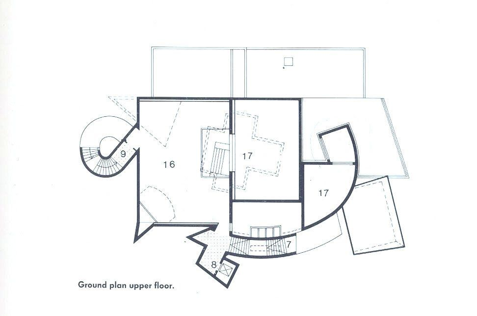 PLANS OF ARCHITECTURE Frank Gehry Vitra Design Museum 1989 Weil Am