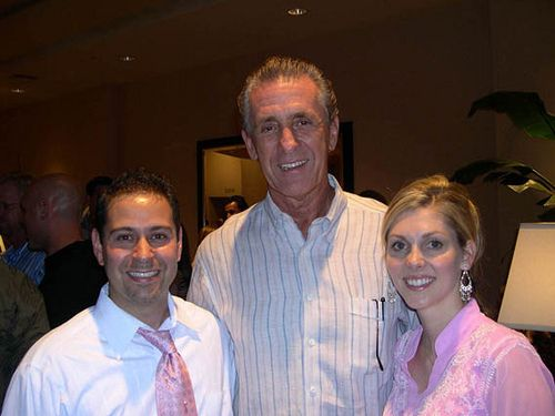 That was a fun night a few years back at Footy's Bubbles and Bones hanging with Pat Riley