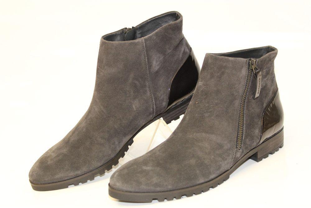 günstig super service gute Qualität Paul Green Womens US 9 UK 6.5 Suede Zip Flat Ankle Boots ...