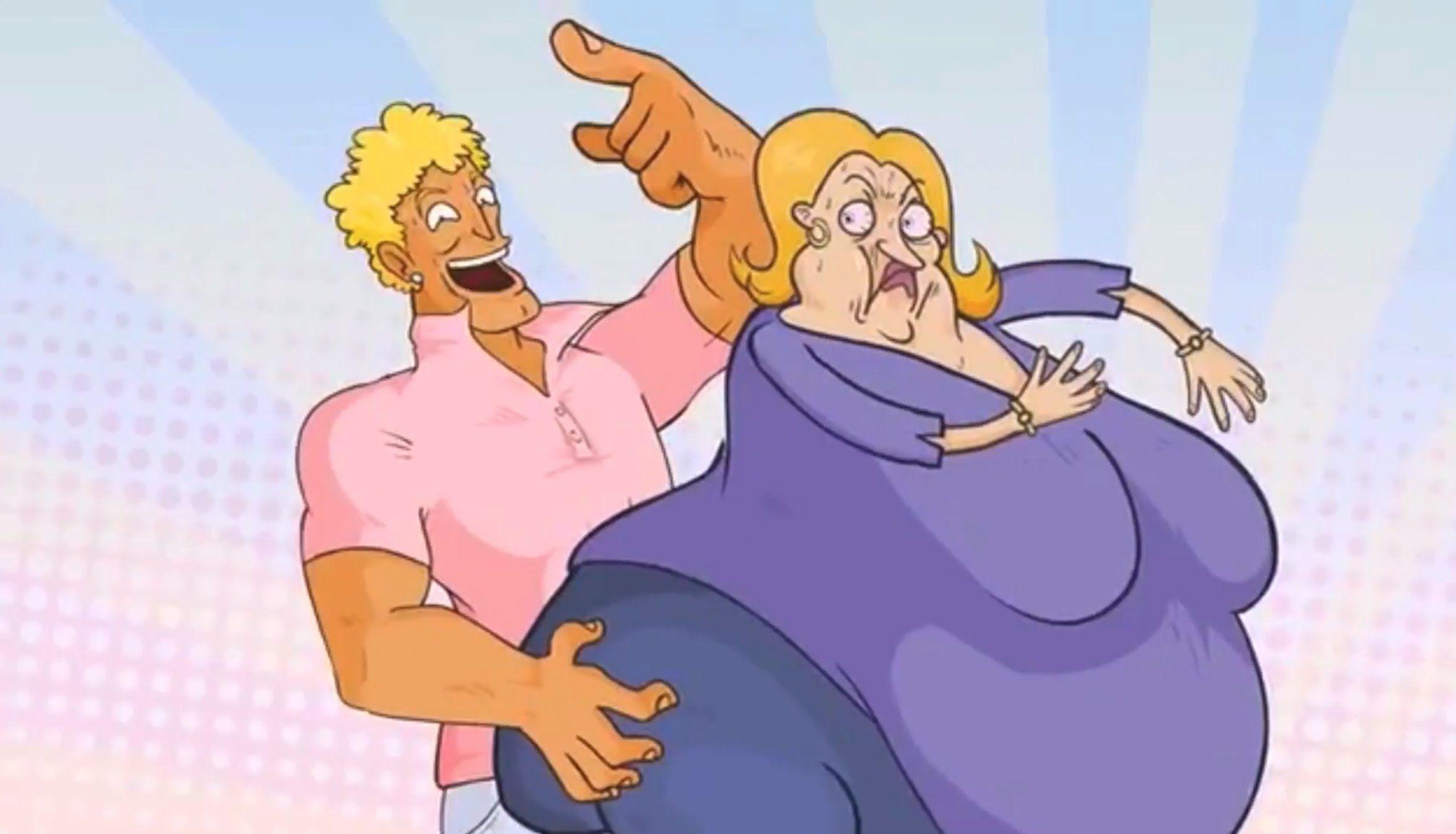 100 Yo Mama Jokes - Can You Watch Them All? (Fat Mama F**k)