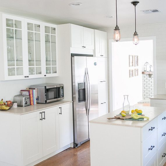 A Chic Kitchen Makeover on a Budget Budgeting, Kitchens and Interiors