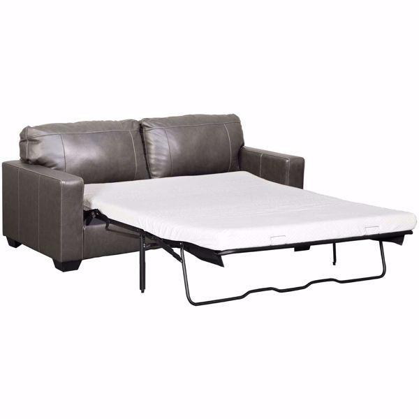 Morelos Gray Italian Leather Queen Sleeper Sofa In 2020 Leather Sofa Bed Grey Leather Sofa Blue Leather Sofa