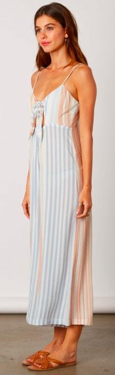 caa00ebca300 Blue Striped Jumpsuit. The By The Shore Blue Striped Jumpsuit has seized  our hearts!