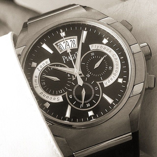 bf10f8dcd8e Piaget Polo FortyFive  watch. Manufacture Piaget 880P  ultr-thin automatic  mechanical