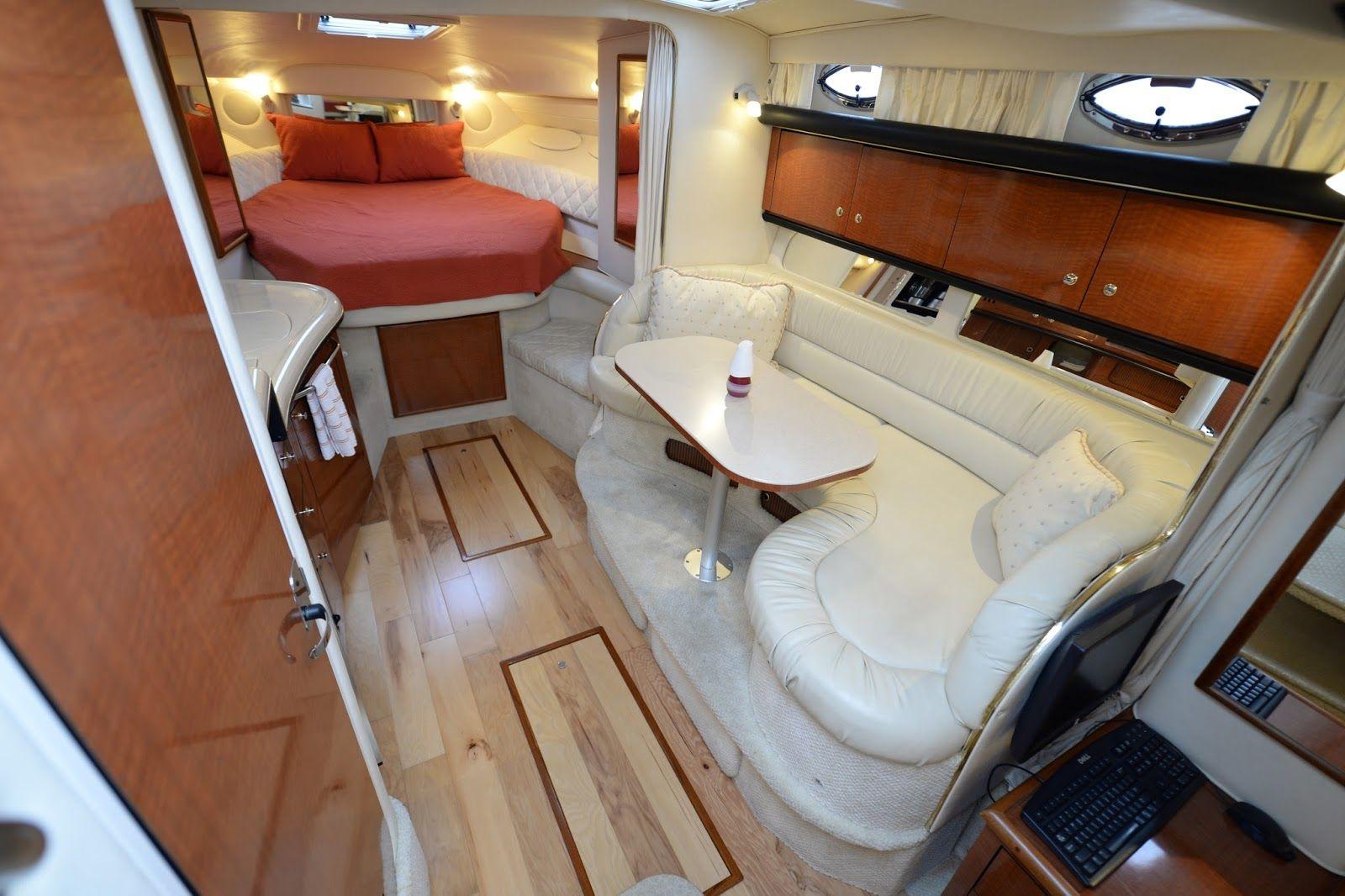 And Some Interior Pictures Boat Interior Boat Interior