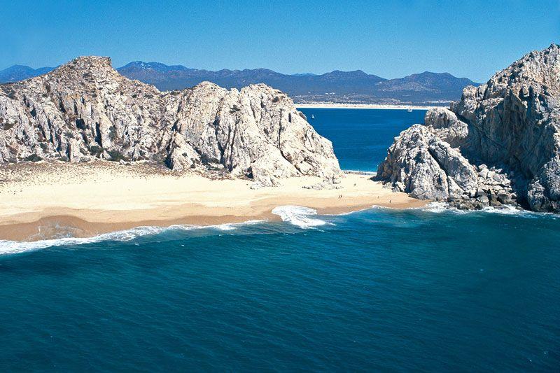 Playa del divorcio ..Cabo san lucas