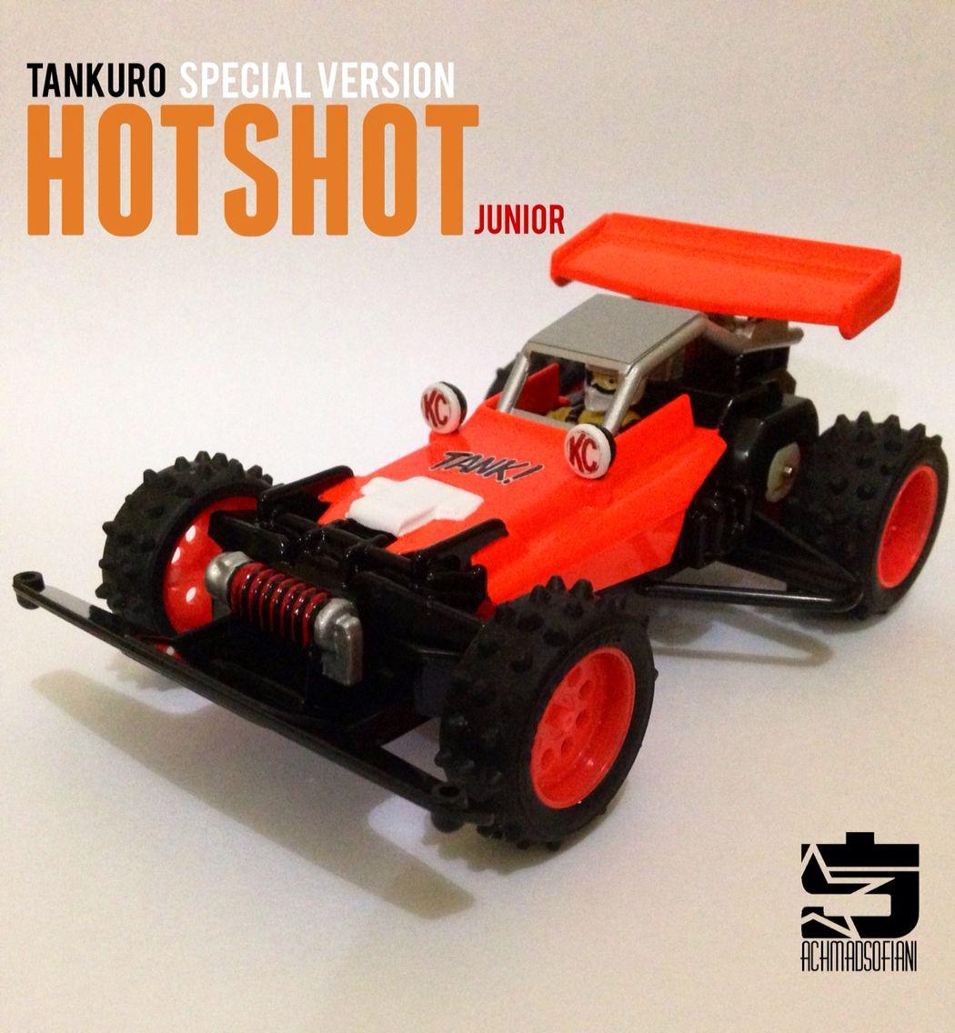 Hot Shot Jr (Tankuro) Toy car, Anime version