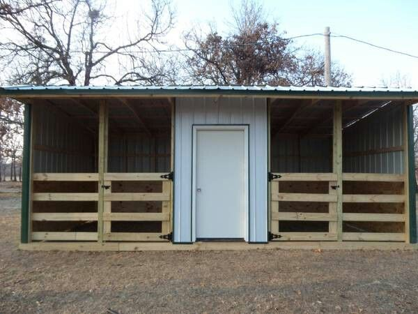 Nice run in or stalls with storage for feed or tack very simple barn two horse stalls ccuart Image collections