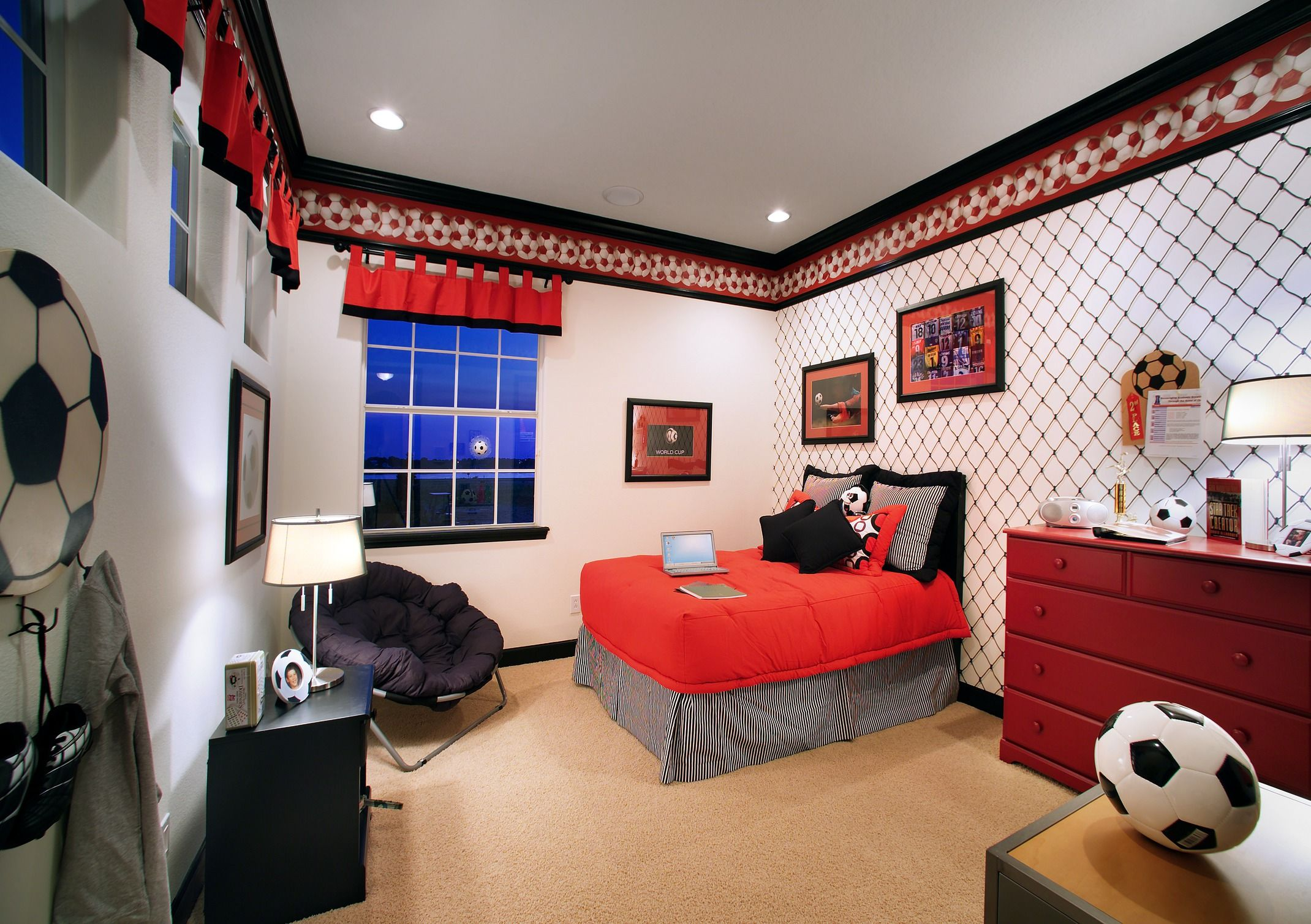 Score A Goal In This Soccer Themed Bedroom Stoncrest Lake