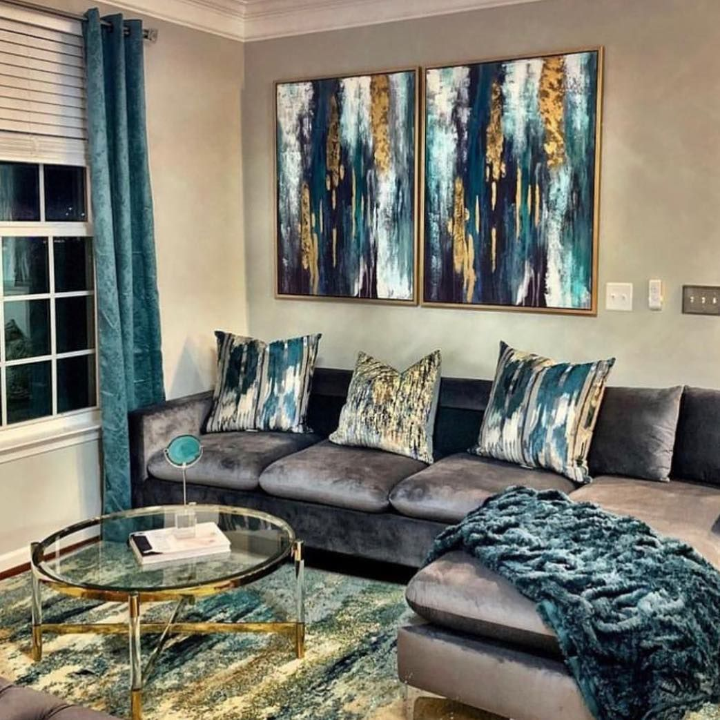 45++ Grey teal living room ideas ideas in 2021