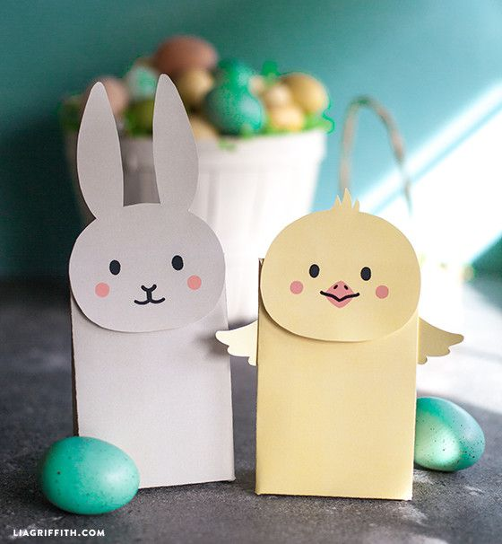 Make your own easter goodie bags pinterest goodie bags easter kids craft make your own chick goodie bags negle Image collections