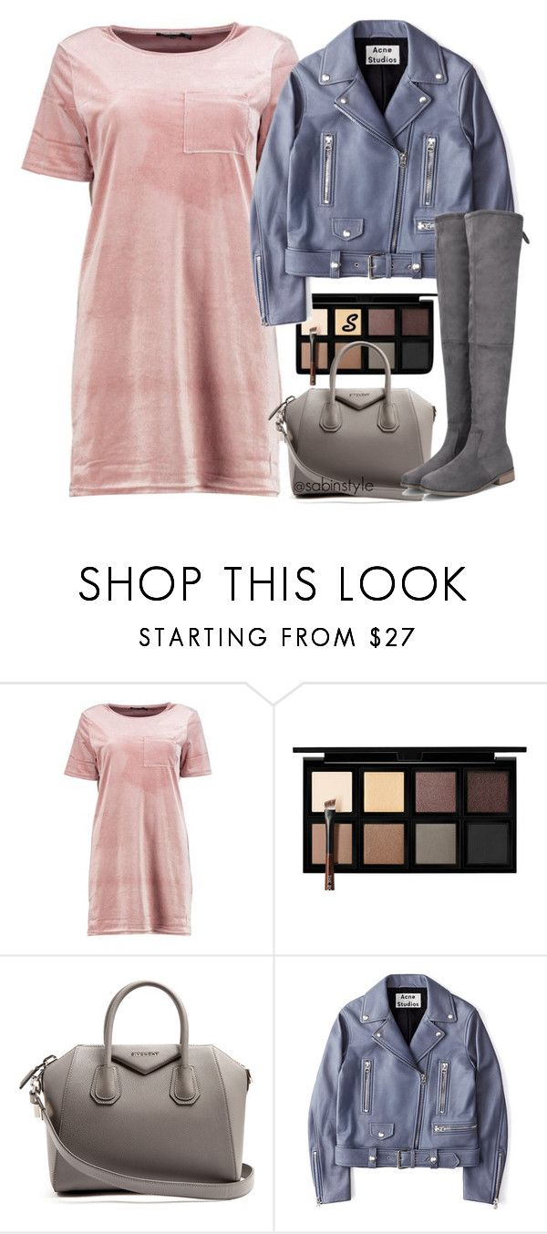 """""""Без названия #1473"""" by sabina-127 ❤ liked on Polyvore featuring Boohoo, Down to Earth, Givenchy and Acne Studios"""