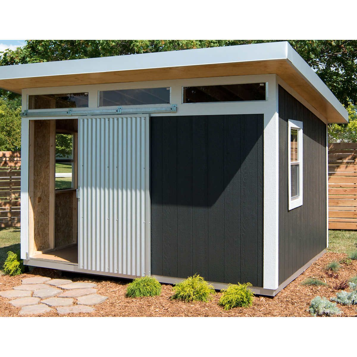 Cute Midcentury Modern Style Shed On Sale Now Studio Shed Building A Shed Outdoor Storage Sheds