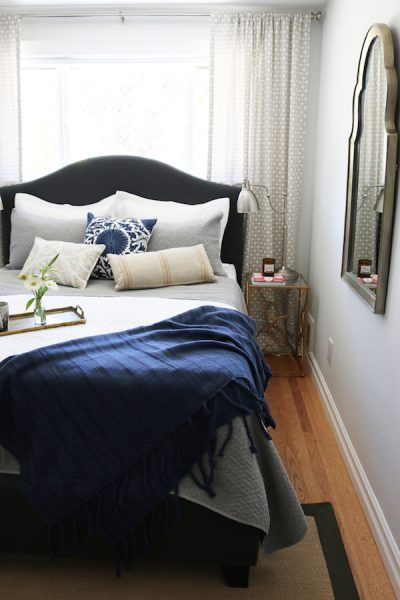 Bedroom Makeovers Before And After small bedroom makeover: before & after (the inspired room
