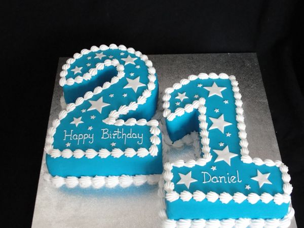 Good Looking Birthday Cakes By Mail 21st Birthday Cakes Number