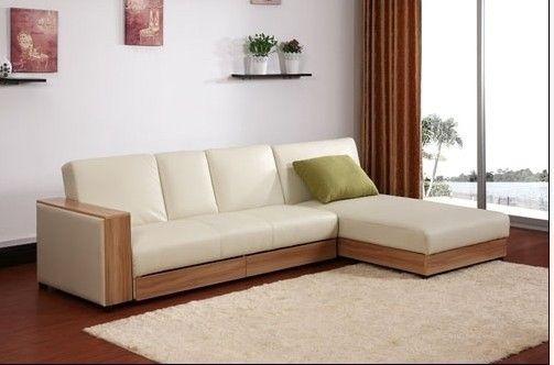Sofa cama madera buscar con google ideas para el hogar for Sofas de sala modernos