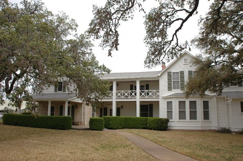 The ranch home of lyndon b johnson near fredericksburg texas the ranch home of lyndon b johnson near fredericksburg texas photo publicscrutiny Image collections