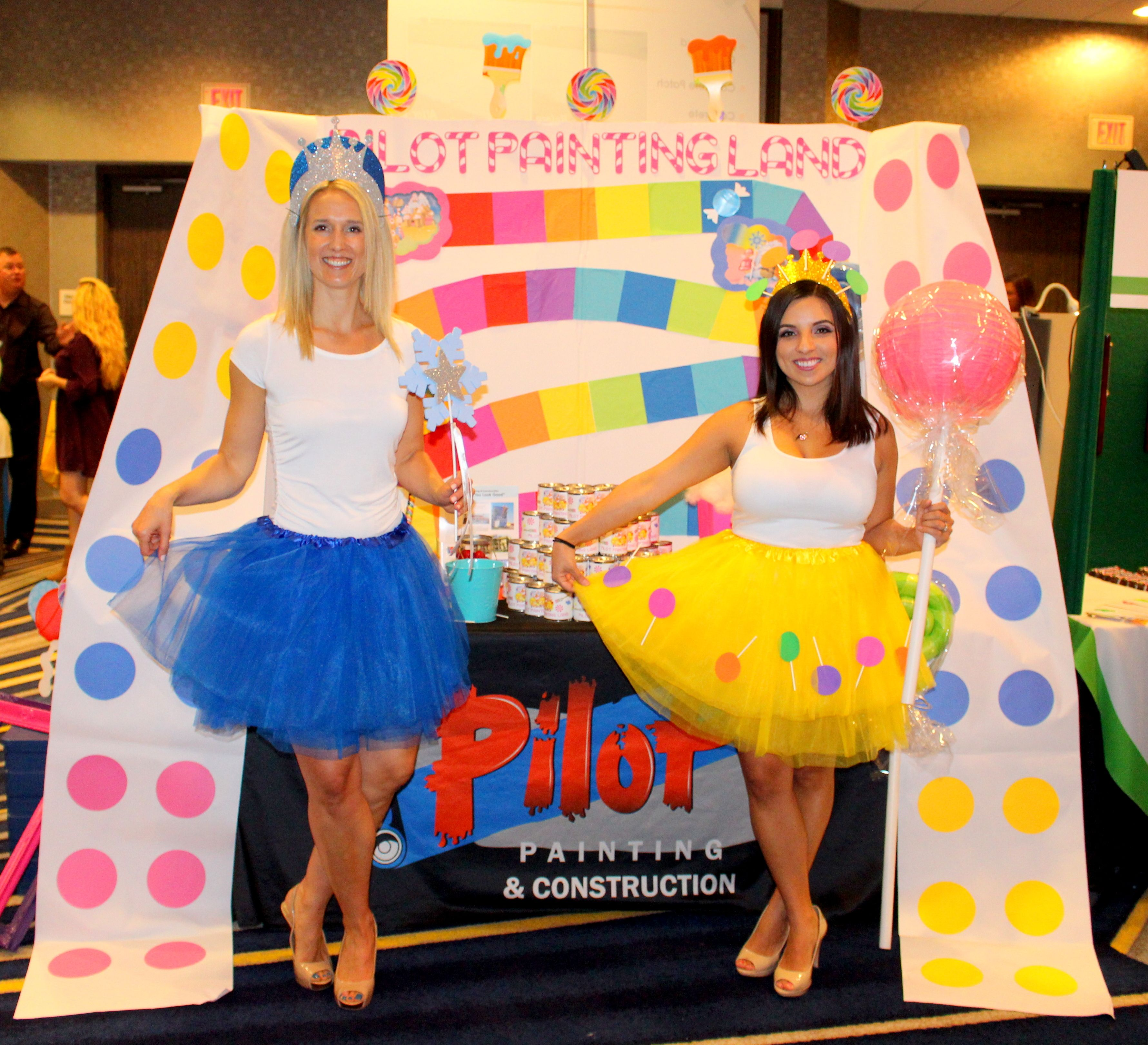 A Sweet Affair! Candyland theme. #Candyland #decor #tradeshowbooth ...