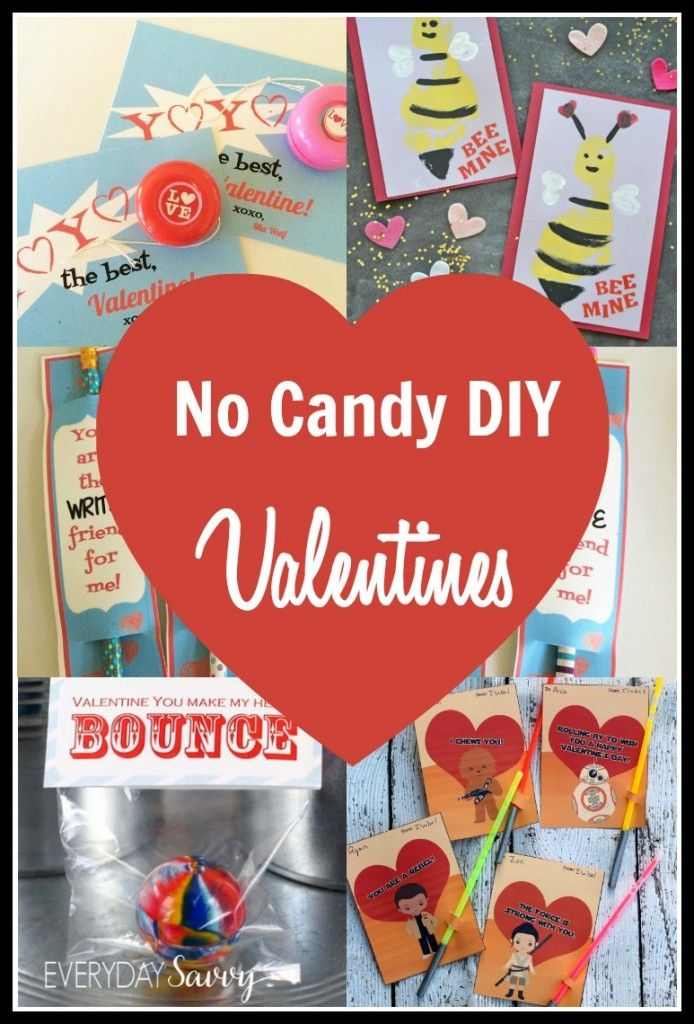 Crafty No Candy Valentine Ideas For Kids Diy Valentines Cards