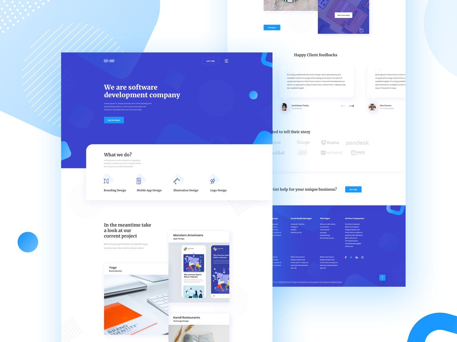 Website Design For A Software Company Learning Website Design Website Design Website Company
