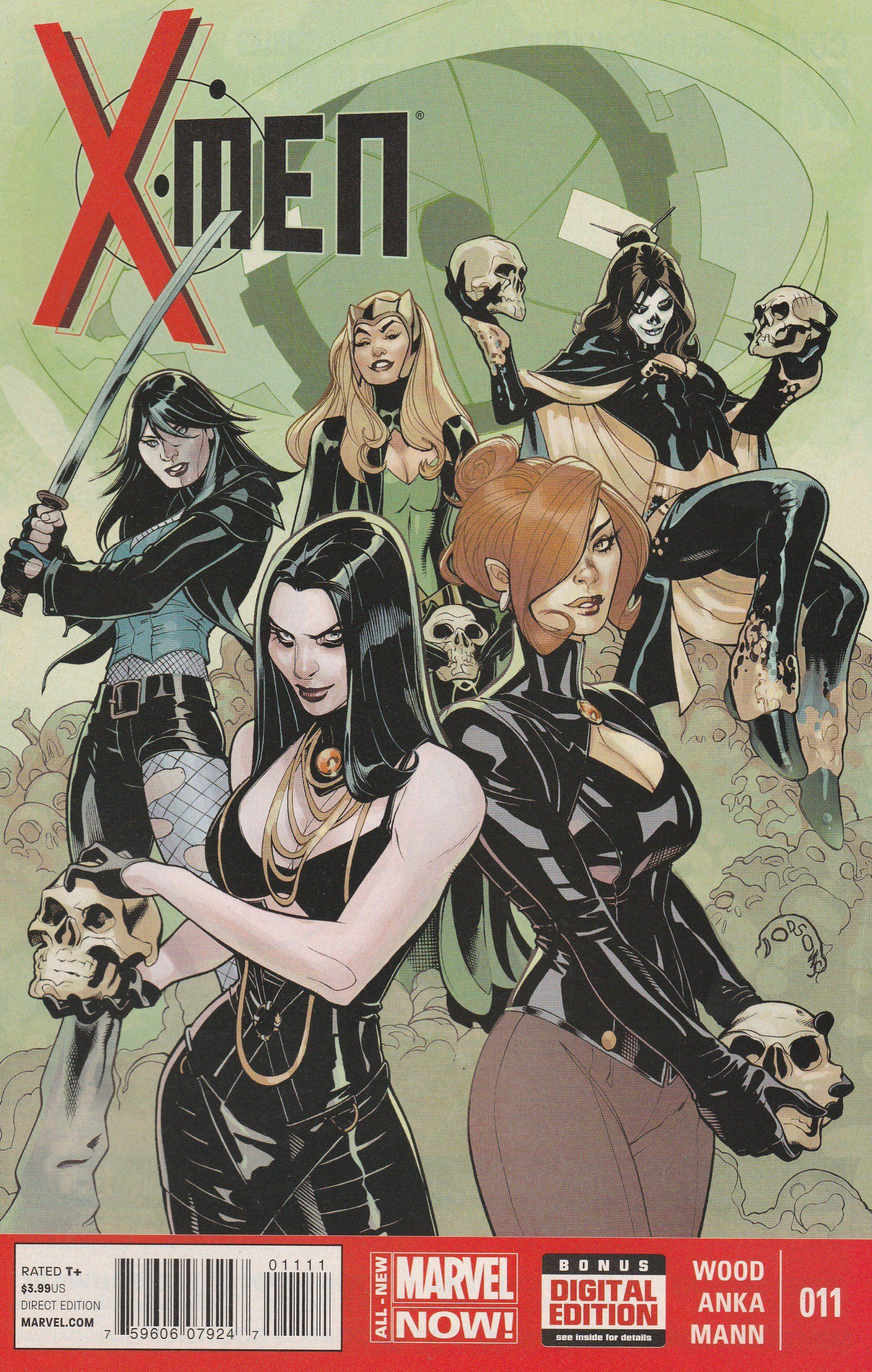 X Men 11 Marvel Now Vol 4 Comic Books Art Comics Comic Book Artists
