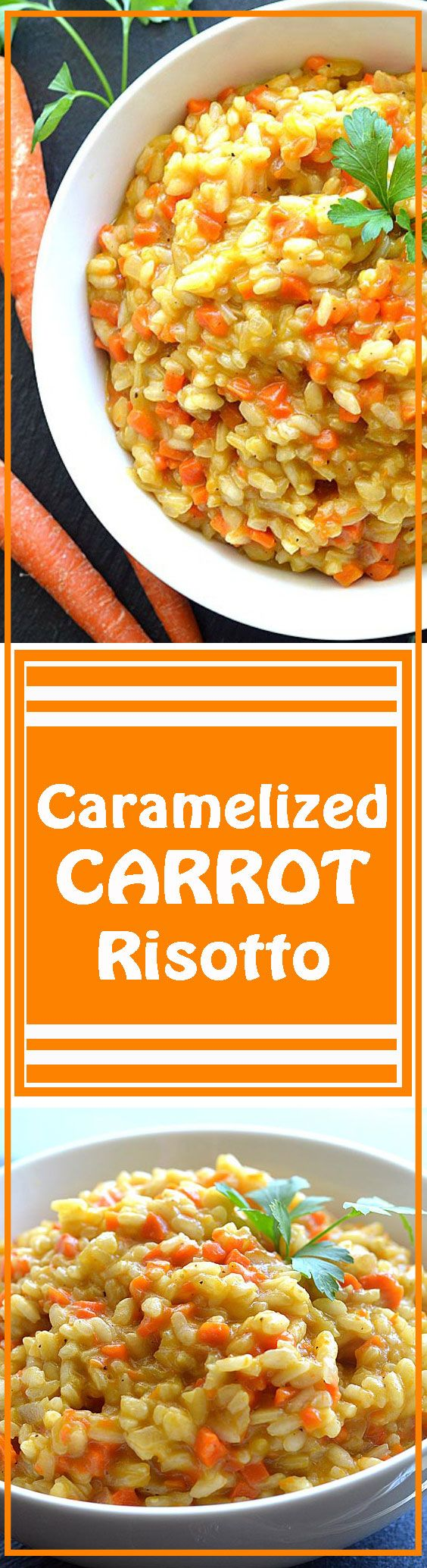 ... Carrot Risotto | Recipe | Risotto, Caramelized carrots and Carrots