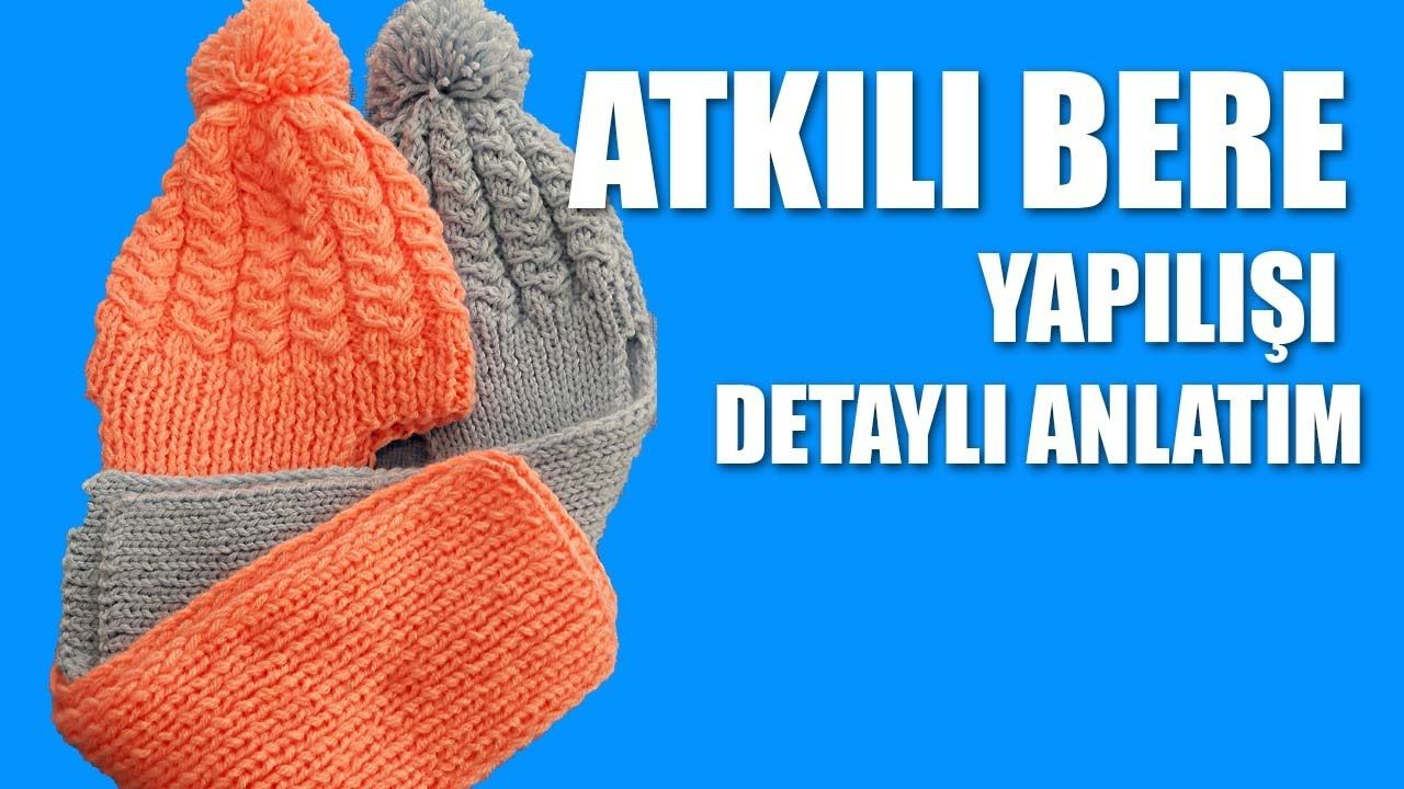 Kolay Ponponlu Bebek Beresi Yapımı Türkçe Videolu