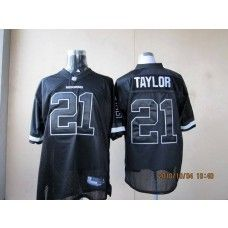 best loved 0bf26 ddc33 Redskins #21 Sean Taylor Black Shadow Stitched NFL Jersey ...