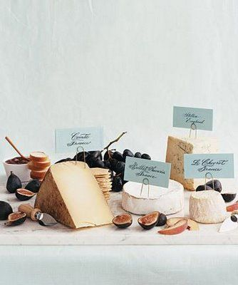 Cheese Table.  