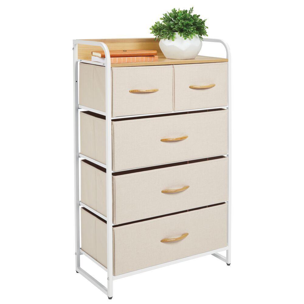 Tall Dresser 5 Drawer Storage Chest Dresser Storage Tall Dresser Fabric Drawers [ 1000 x 1000 Pixel ]