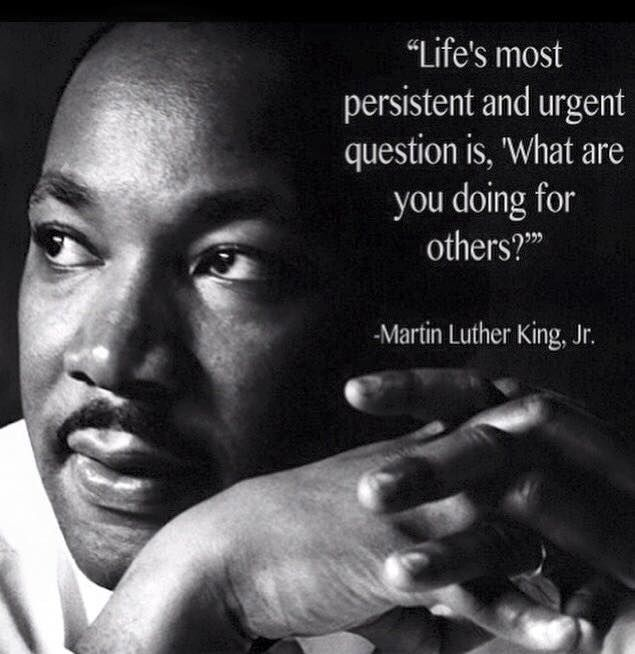 Happy Birthday To Dr Martin Luther King Jr Or Simply Mlk Today Is His Actual Birthday Although Martin Luther King Quotes King Quotes Martin Luther King