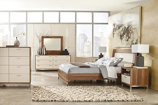 The Candiac Panel Bedroom Set From Ashley Furniture
