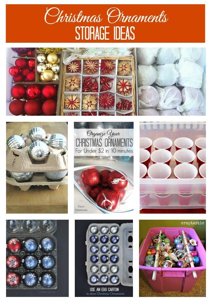Holiday Decoration Storage Ideas Tips Christmas Ornament Storage Christmas Decoration Storage Christmas Storage